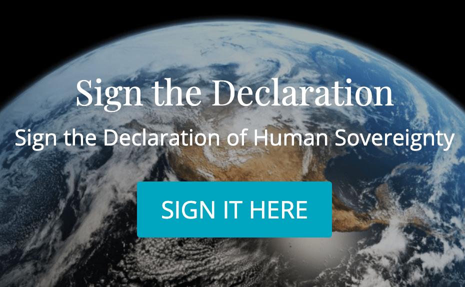 Declaration of human sovereignty