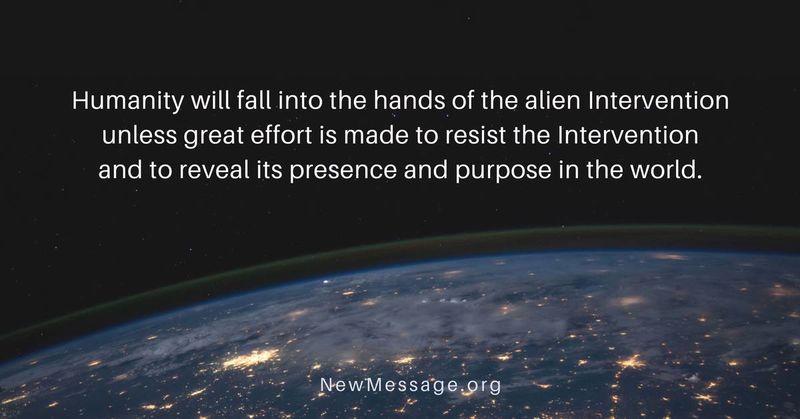 Resist alien intervention