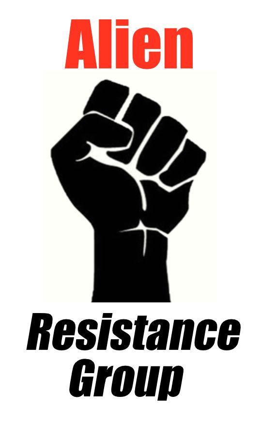 alien resistance logo